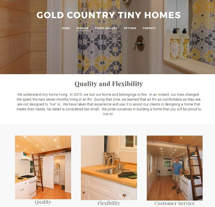 gold country tiny homes